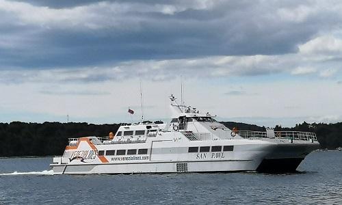 San Pawl catamaran